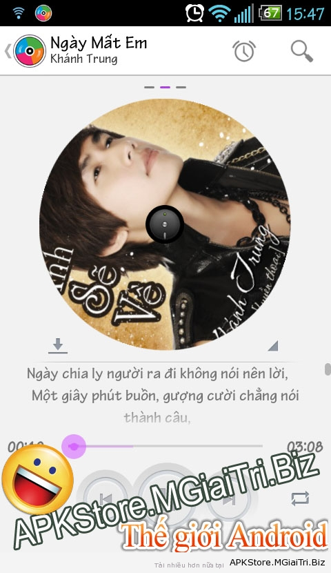 zing mp3 apk cho android 2.3.6