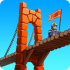 Bridge Constructor Medieval mod tiền – Game xây cầu dẫn quân HD cho Android