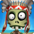 Zombie Castaways HD mod tiền – Game vườn của zombie cho Android