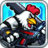 Chicken Warrior 2 : Zombie Hunter HD mod tiền cho Android