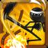 Stickninja Smash HD mod tiền – Game cuộc chiến Ninja cho Android