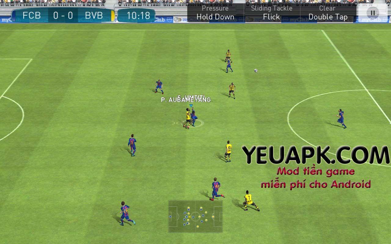 PES 2017 HD mod [Full APK] – Game đá bóng đồ hoạ đẹp cho Android