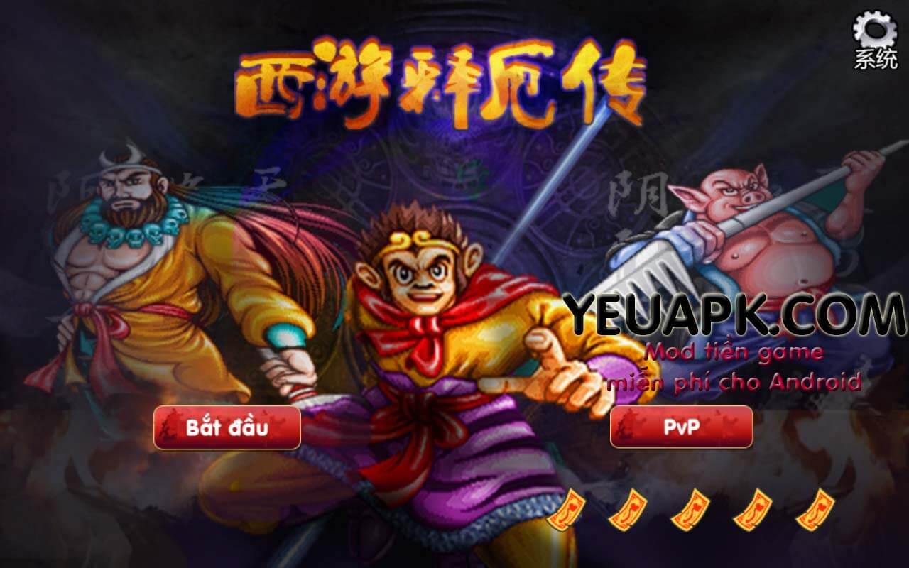 [Game Android] Tây Du Ký hack (西游释厄传) – Game máy thùng skill đẹp