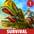 Jurassic Survival Island mod tiền (money) – Game thời khủng long cho Android