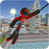 Stickman Rope Hero v1.2 mod money & upgradepoints cho Android
