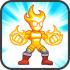S.U.P.E.R Super Defenders v1.5 mod vàng & kim cương cho Android
