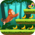 Jungle Monkey Run mod banana – Game khỉ ăn chuối cho Android