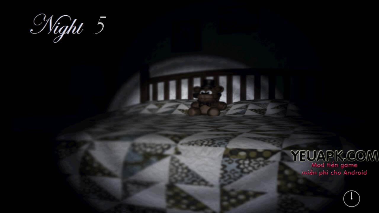 Ảnh màn hình trò chơi Five Nights at Freddy's 4