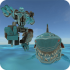 Robot Shark mod tiền (money) – Game siêu nhân cá mập cho Android