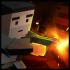 Cube Zombie War v1.2.2 mod kim cương (gold crystals) cho Android