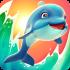 Dolphy Dash mod vàng & kim cương (coins gems) – Game cá heo cho Android