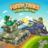 Funny Tanks mod vàng (coins) – Game trận địa vui nhộn cho Android