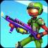 Stick Fight Strike Gun mod tiền – Game chiến binh người que cho Android