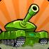 Awesome Tanks mod vàng (money) – Game trận địa bắn xe tăng 2D cho Android