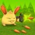 Rabbit Shooter mod vàng (gold) – Game thỏ diệt quái vật cho Android