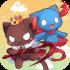 Cat King mod vàng (gold diamonds) – Game chiến tranh chó mèo cho Android