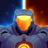 Metal Shooter Se7en Hero mod vàng & kim cương (gold gems) cho Android