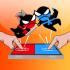 Nhảy Ninja trận chiến mod kim cương (gems) – Game Jumping Ninja Battle cho Android