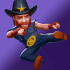 Nonstop Chuck Norris mod vàng & kim cương (coins diamonds) cho Android
