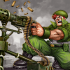 World War Warrior mod tiền (money) – Game phòng thủ chiến tranh cho Android
