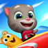 Talking Tom Sky Run mod tiền (gold diamonds) cho Android