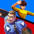 Superhero Captain X vs Kungfu Lee mod tiền (money) cho Android